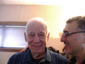 David with Stanley Keleman